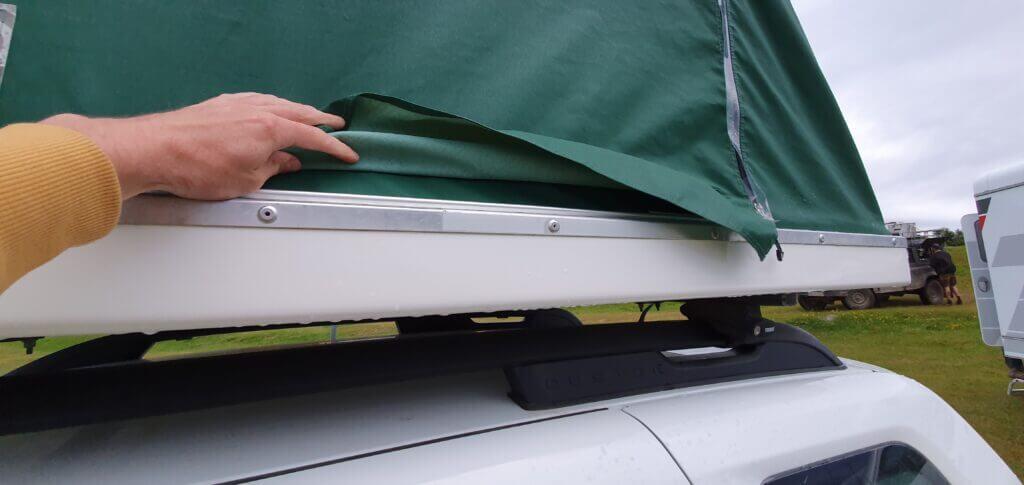 Columbus rooftop tent rain isolation