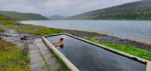 Horgshlidarlaug hot spring