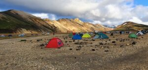 Landmannalaugar Brennisteinsalda campsite