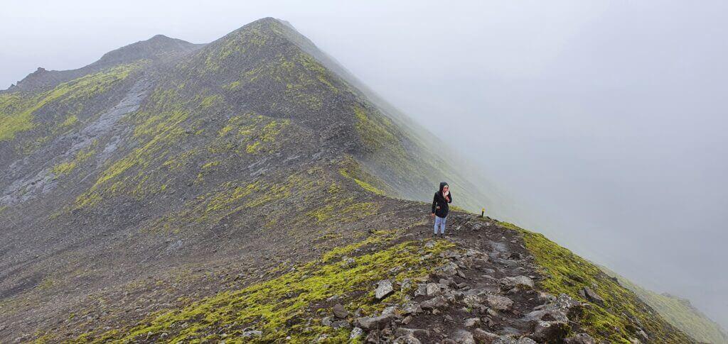 Sveinstindur near Langisjor