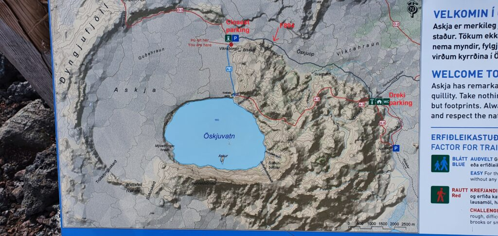 askja map