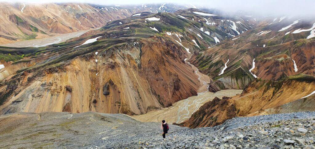 blahnjukur peak view