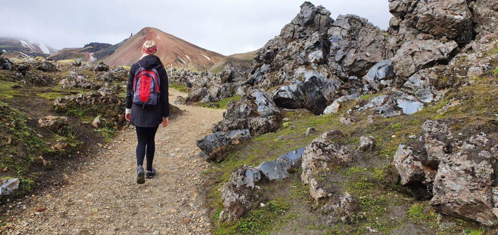 brennisteinsalda hiking trail