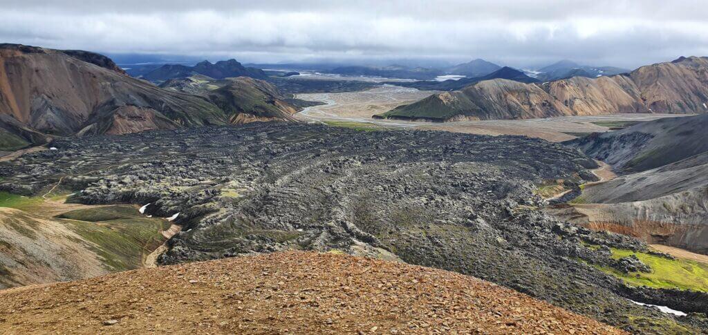 brennisteinsalda peak view