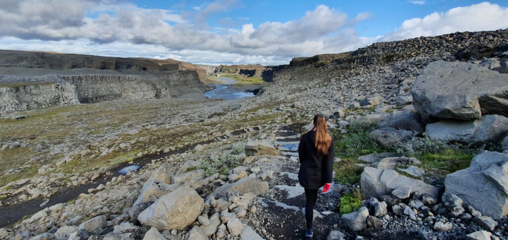dettifoss south trail