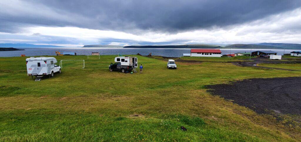 drangsnes campsite