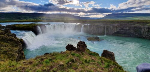 Godafoss before sunset