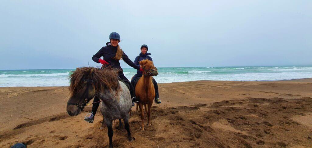 horse riding snaefellsnes beach