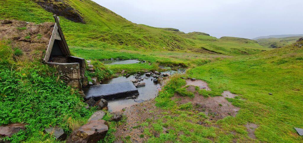 hrunalaug hot spring