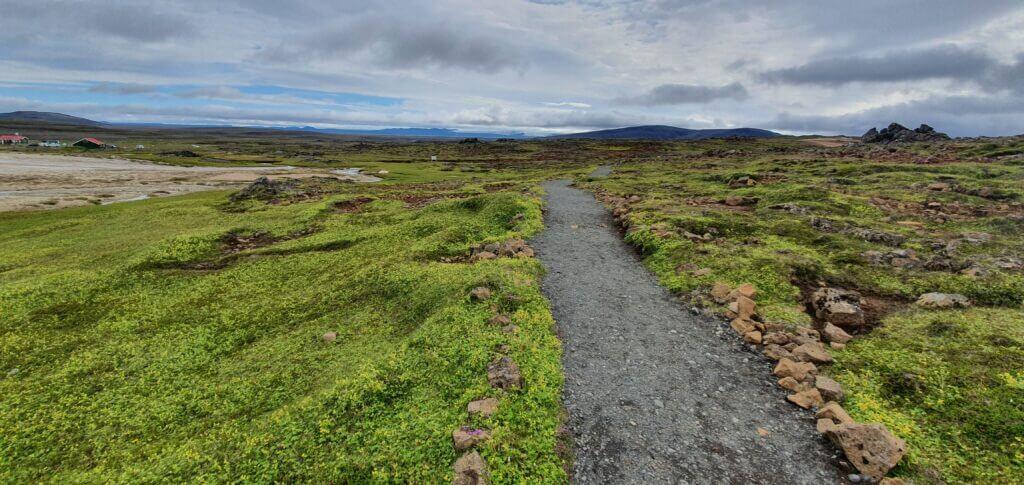 hveravellir trail
