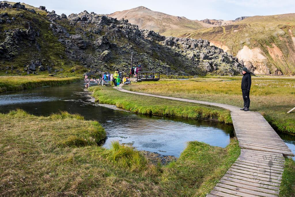 Landmannalaugar hot spring