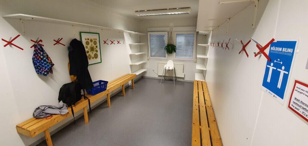 lysuholslaug changing room