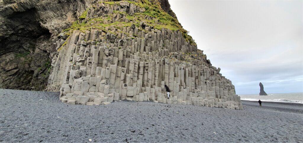 Basalt columns Reynisfjara beach
