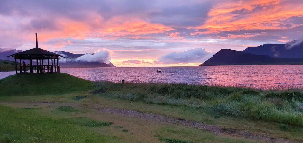 thingeyri sunset