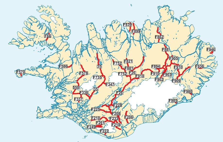 f-roads map