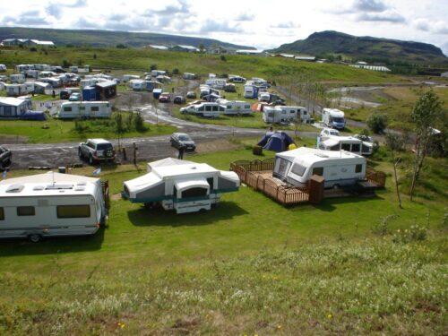 Fludir campsite