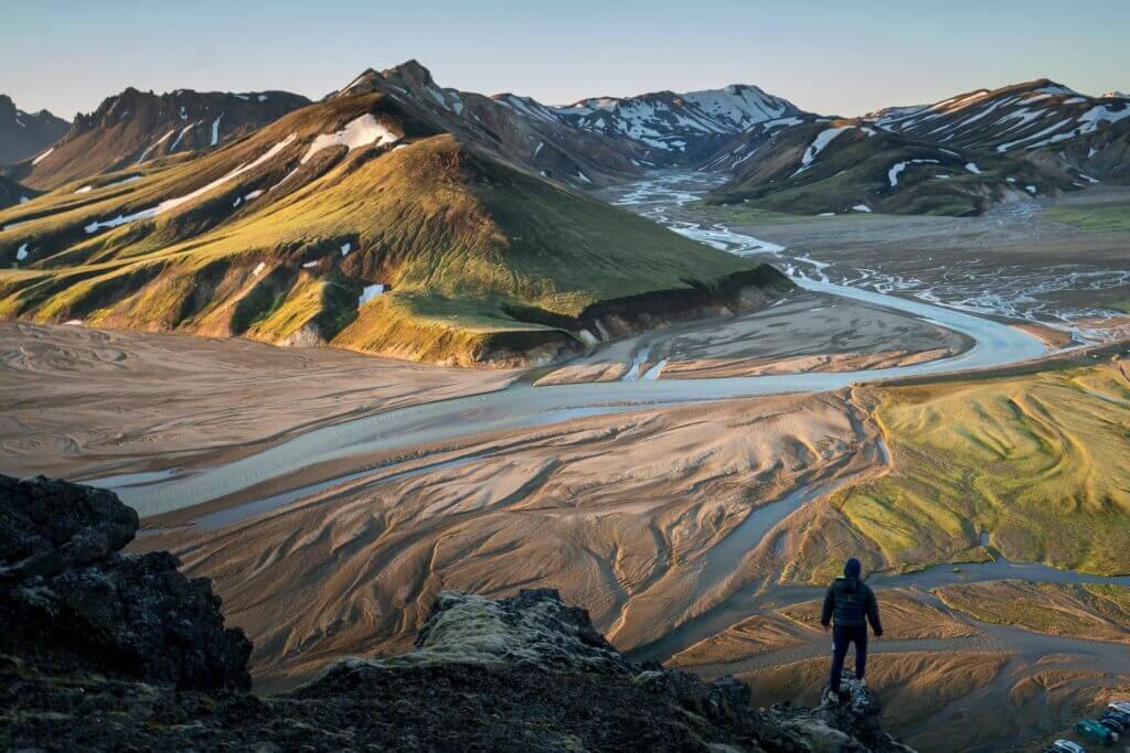 iceland laugavegur trail hike