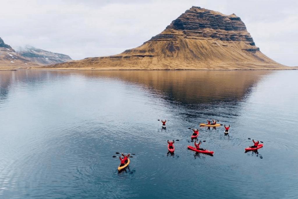 kirkjufell kayaking