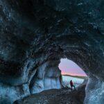 skaftafell blue ice cave iceland