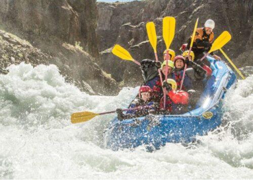 viking white water action rafting